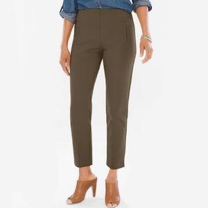 Olive Green Juliet Ankle Pants